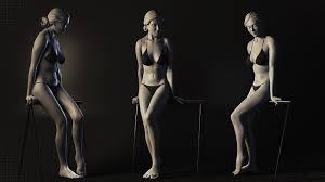 Images Female Anatomy Artstation Female Anatomy Sculpt Study Robin Brockötter