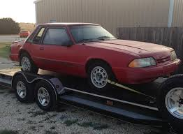 mustang project cars for sale sold 1992 mustang coupe project car for sale 5 0 5 speed