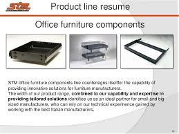 Office Furniture Components by Stm Srl Company Introduction