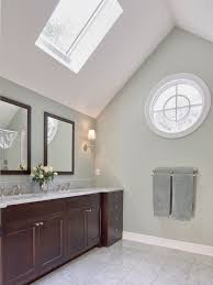 bathroom design traditional small bathroom with skylight and tall