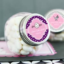 wedding candy favors personalized baby shower candy jars