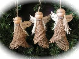 ornament burlap set of 3 qtvg3q7r