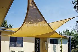 Triangular Patio Awnings 3 6 3 6 3 6m Triangular Shade Cloth Sun Shade Sail U0026 Shade Net