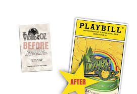 playbillder create your own playbill for your or amateur
