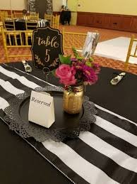 best 25 black and gold centerpieces ideas on pinterest