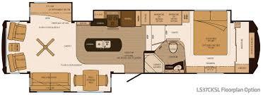5th Wheel Camper Floor Plans Lifestyle Luxury Rv Introduces Third Floor Plan U2013 Vogel Talks Rving