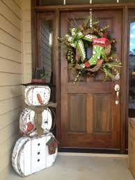 s decorations d snowman decoration for your front porch s on top christmas table