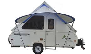 A Frame Awning The Pahaque Visor Is Custom Designed For A Frame Trailers Rvwest
