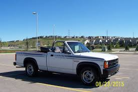 daily turismo auction watch 1990 dodge dakota convertible