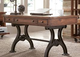 Writing Desks For Home Office Arlington House Cobblestone Brown Writing Desk From Liberty 411