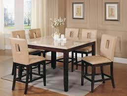 counter height dining room table sets 7 pc counter height dining sets caravana furniture