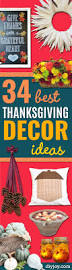 34 best thanksgiving decor ideas diy joy