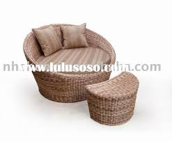 Wicker Sofa Bed by Furniture Rattan Sofa Bed And Foot Stool By Seagrass Furniture