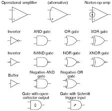 circuit schematic symbols electronik u0026 computer