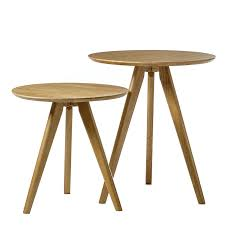 side table set of 2 home republic clyde side table set of 2 furniture side tables
