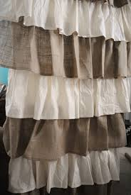 Cynthia Rowley Home Decor by Country Ruffled Shower Curtains Distinctive Cute Curtain Best Long
