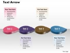 arrow circle powerpoint templates slides and graphics