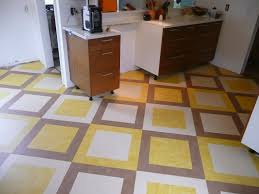 custom marmoleum tile installation completed by interior floor