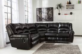 Loveseat With Recliner Buy Manzanola Black Laf Reclining Loveseat With Raf Reclining