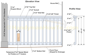 Stair Post Height by Standard Deck Railing Height And Idea Porch Wooden 2017 Images