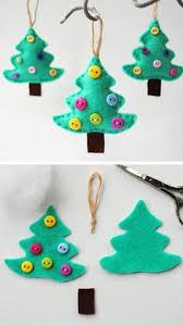 button tree ornament simple button tree