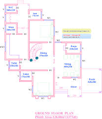 plan and elevation of kerala houses house plan
