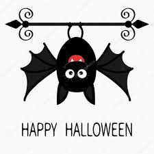Cute Halloween Bats by Cute Cartoon Hanging Bat U2014 Stock Vector Worldofvector 120910266