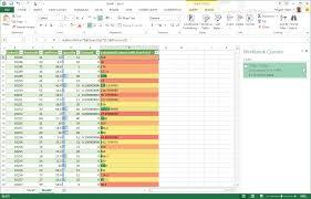 insert a custom column into a table power query excel