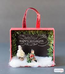 Box Ornament Shadowbox Diy Ornaments Atta Says