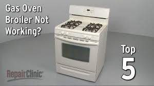 gas oven broiler not working u2014 gas range troubleshooting youtube