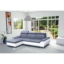 canap d angle blanc et gris canapé d angle 4 places cayenne gris et blanc a achat vente