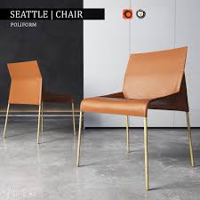 M S Armchairs Chair Poliform Seattle 3d Model Seattle 3d And Models