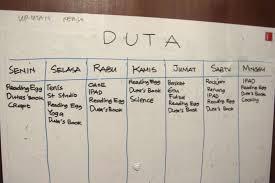tips membuat jadwal kegiatan harian membuat jadwal homeschooling rumah inspirasi