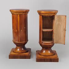 Pedestal Cabinets Pair Of Edwardian Pedestal Cabinets U2022 Jeffrey Tillou Antiques