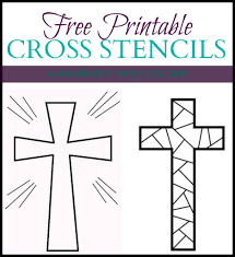 free printable cross coloring pages free printable stenciling