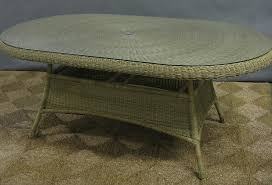 all weather dining table 72 x 42 wicker all weather dining table all about wicker