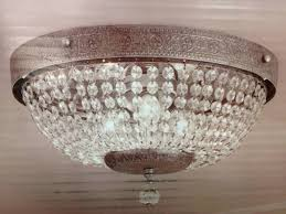 Chandeliers For Outdoors by Flush Mount Chandelier For Girls Bedroom