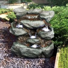 garden water fountains costco home outdoor decoration