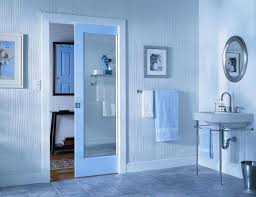 Bathroom Pocket Doors Pocket Door Mirror Ideas Closet United States With