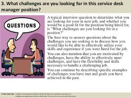 what is service desk top 10 service desk manager interview questions and answers