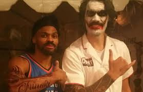 Entertainment For Halloween Party Russell Westbrook Dresses Up Like Teammate Steven Adams For
