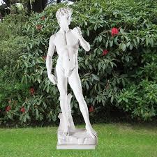 michelangelo david 84cm garden sculpture large marble statue s u0026s