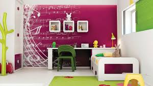 wand gestaltung mdchen kinderzimmer wandfarbe musik noten wandgestaltung im mädchenzimmer