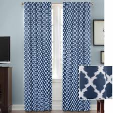 Eclipse Blackout Curtains Walmart Eclipse Blackout Thermaliner Curtain Panels Set Of 2 Walmart Com