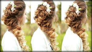 easy cascading curls hairstyle prom hairstyles