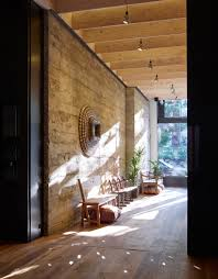 Home Yoga Room by Gocstudio Creates Naturalistic Ritual House Yoga Studio