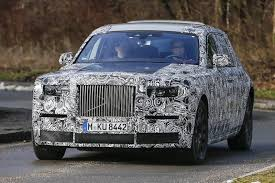 rolls royce phantom 2016 rolls royce phantom successor first spy shots gtspirit