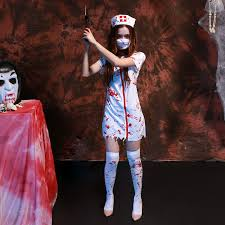 Scary Costumes For Halloween Click To Buy U003c U003c Halloween Scary Zombie Nurse Costume Women