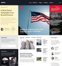 notio download responsive news and magazine joomla template