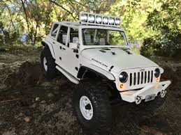 jeep matte grey axial crawler 1 10 scx10 2012 jeep wrangler rubicon custom body